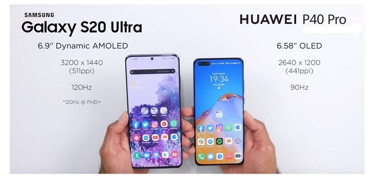 Tes Kamera Samsung S20 Ultra vs Huawei P40 Pro