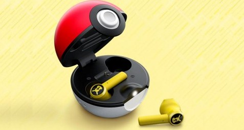Earbuds Wireless Bertema Pokemon Dirilis Razer