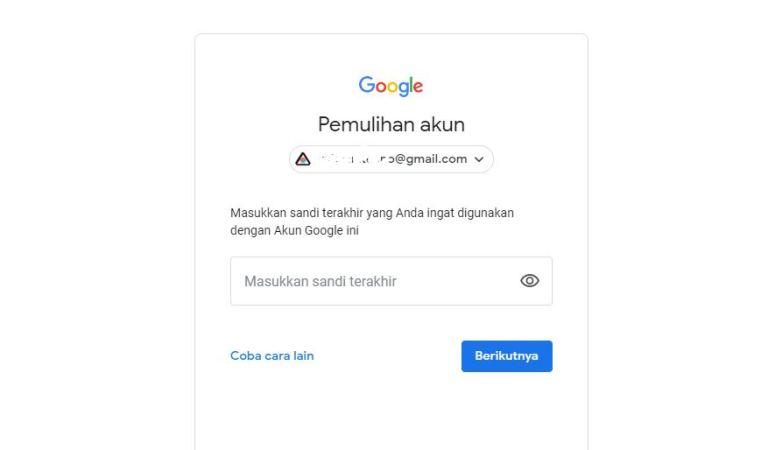 Lupa Pass Gmail? Jangan Khawatir, Mudah Sekali Menyelesaikannya