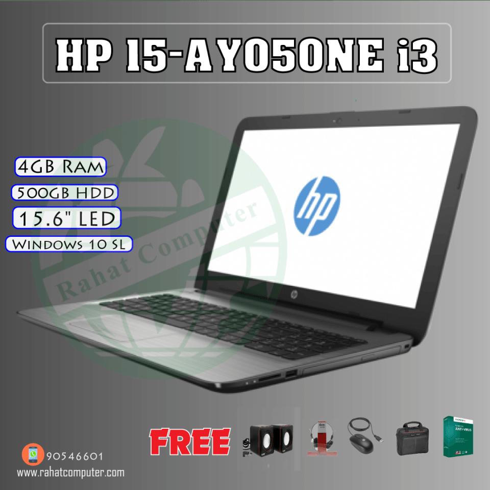 HP Laptop 15-AY050NE Intel Core i3