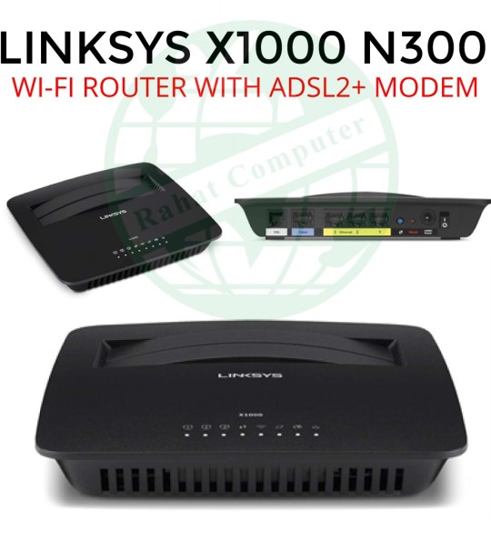 Linksys X1000 N300 Router