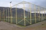 Der Fussballplatz der Stadt.