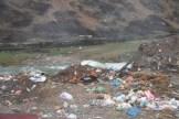 Müll wird einfach abgelegt. Ein gewohntes Bild.
