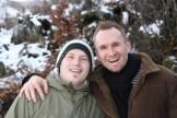 Danny mit Simon.
