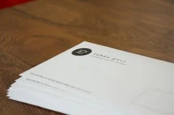 Rahda Post Briefumschlag