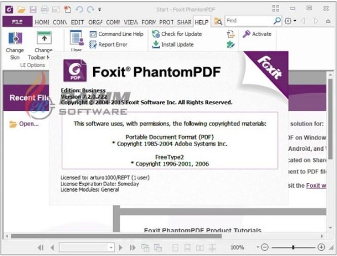 Foxit PhantomPDF 10.0.0.35798 + Crack [Latest Version]