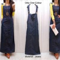 Overall Jeans Maxi