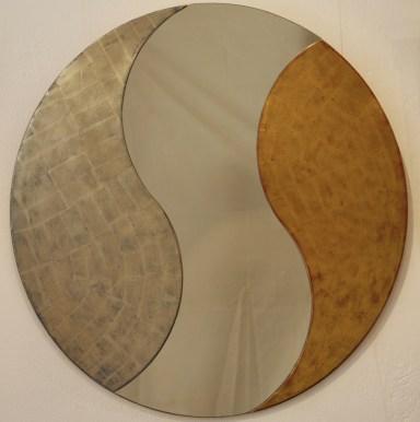 Spiegel Yin und Yang