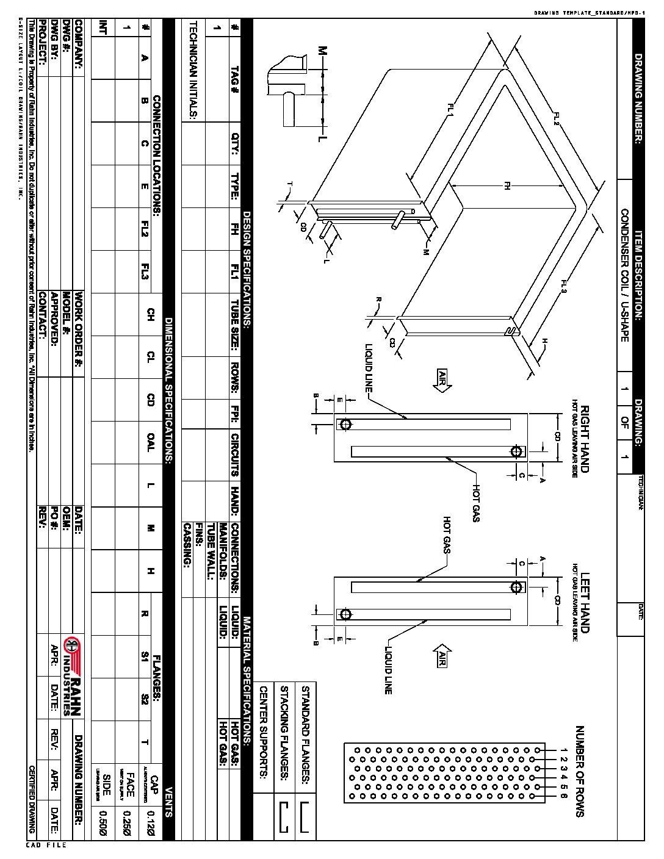 Condenser-coil-template_U-Shape