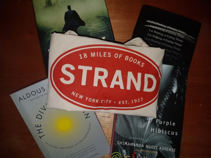Book Lover - The Strand Bag and Books, 18 miles of books
