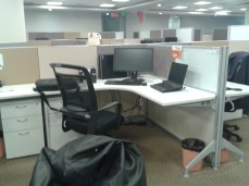 My cubicle-ish space