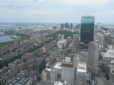 Skyline from skywalk observatory