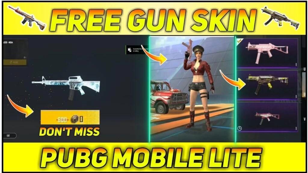 How To Get Free Gun Skin In PUBG Mobile Lite