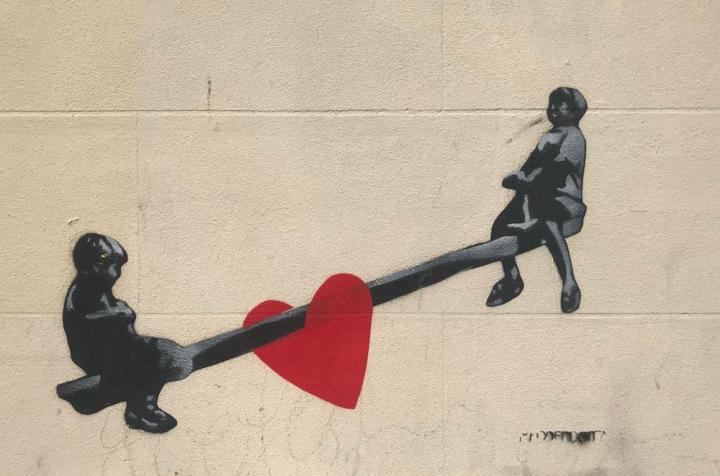 Seesaw-street-art-Brighton-1