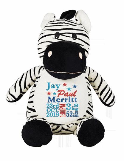 Zebra Cubbie
