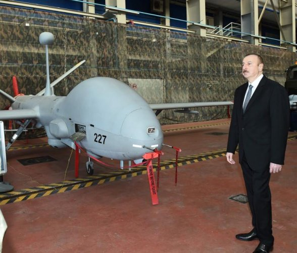 Aliyev has gained a military advantage over Armenia due to the newly acquired Bayraktar TB2 Turkish drones.