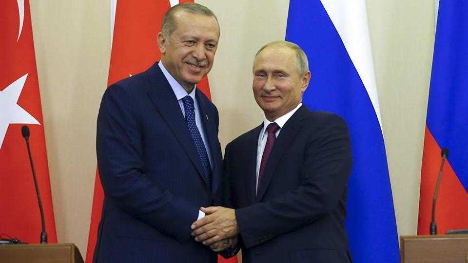 Putin and Erdogan's dynamics of carving up zones of influence throughout the MENA region has continued in the South Caucasus.