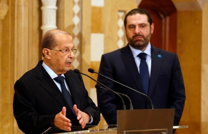 Hariri's conflict with Aoun
