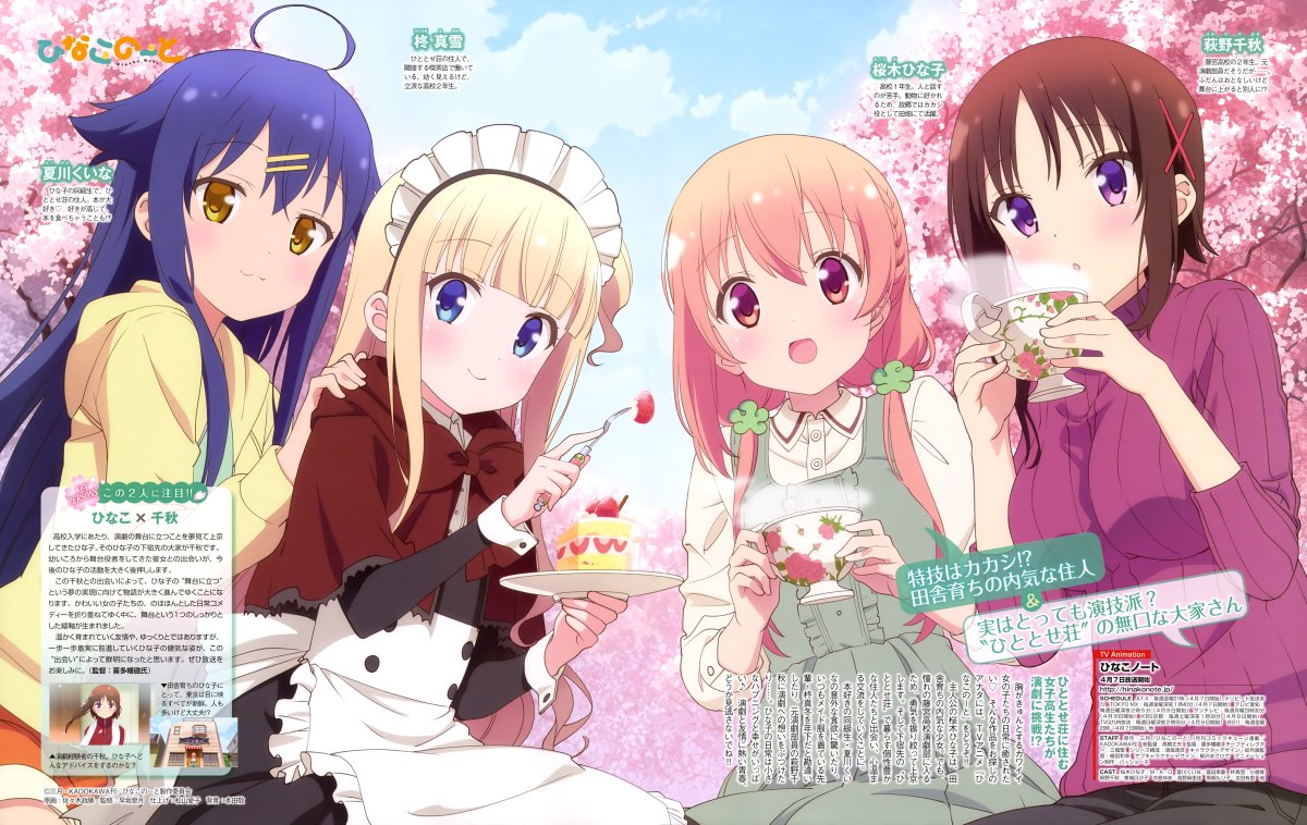 Moe Anime Girl Wallpaper Hinako Note Review And How Relatability Helps Us Enjoy