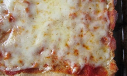 """""""Almost Real"""" Easy Thin Pizza Crust"""