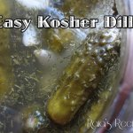 Easy Kosher Dills