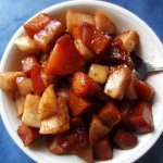 Peach & Apple Breakfast Compote