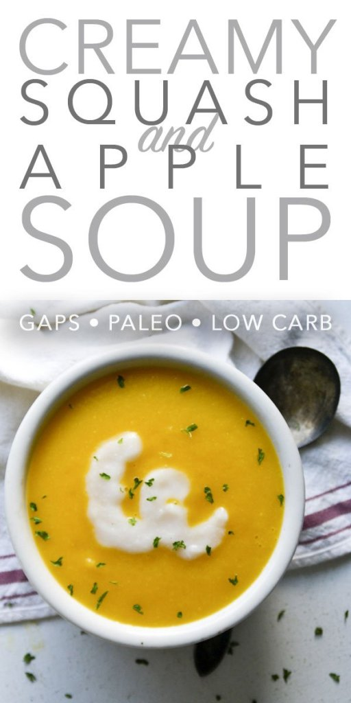 Creamy Squash and Apple Soup