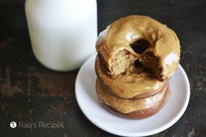 Banana Nut Butter Donuts | RaiasRecipes.com