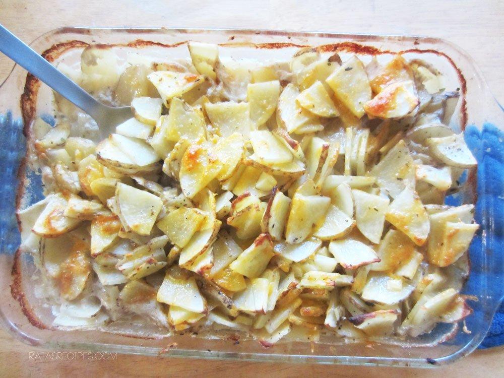 Gluten Free Scalloped Potatoes   RaiasRecipes.com
