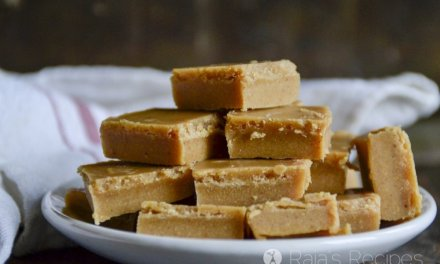 Quick & Easy Nut Butter Freezer Fudge