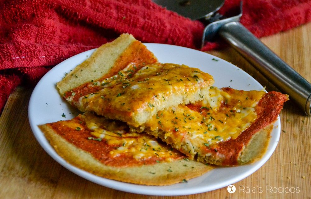 Gluten Free Soaked Pizza Crust