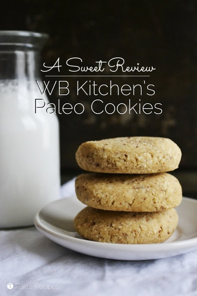 A Sweet Review | WB Kitchen's Paleo Cookes | RaiasRecipes.com