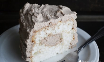 Chocolate Cream Angel Food Cake