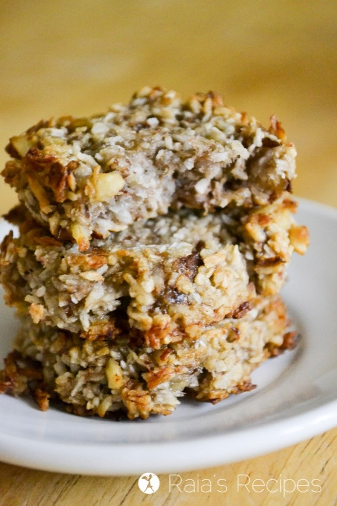 Easy and delicious, these paleo and vegan Banana Coconut Cookies are a hit whenever they're made!