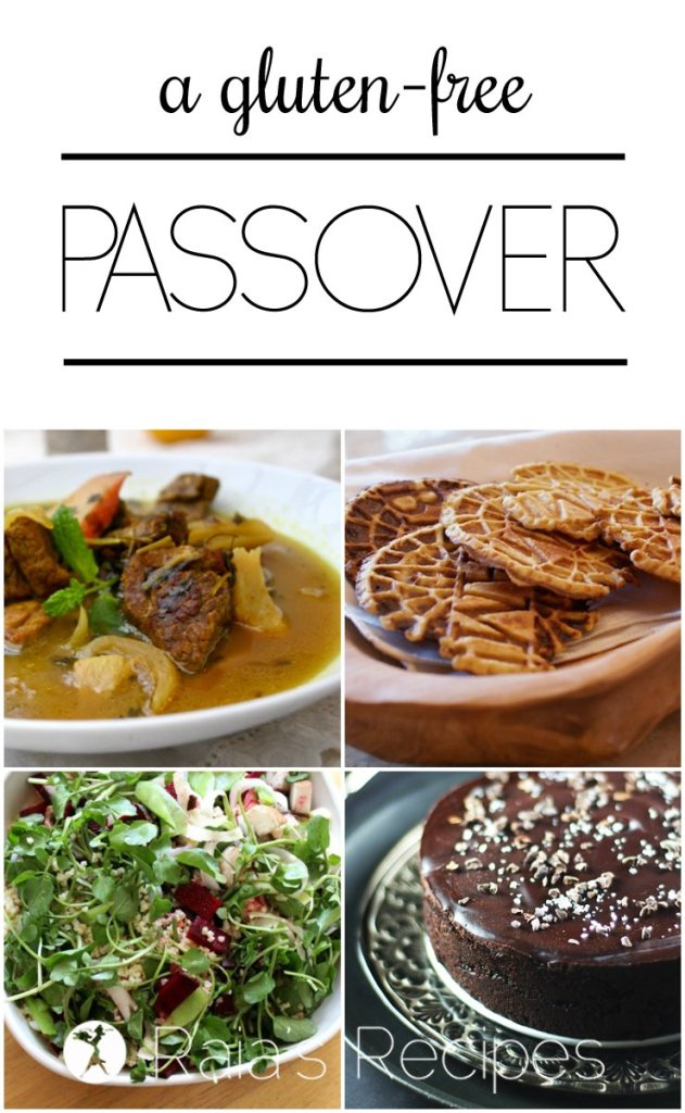 GF Passover Collage | RaiasRecipes.com