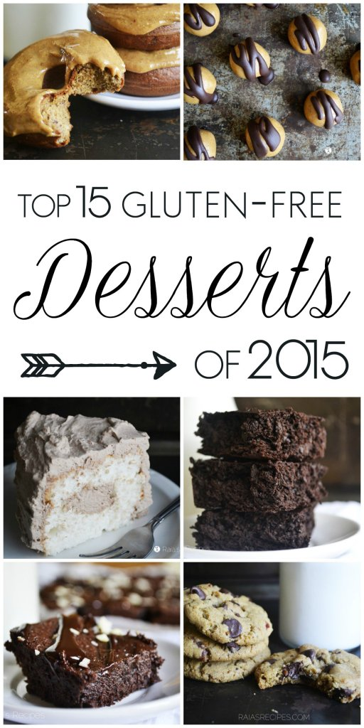 Top 15 Gluten-Free Desserts of 2015 | RaiasRecipes.com