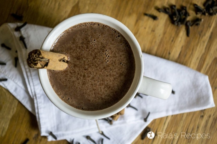 This honey-sweetened Spiced Hot Cocoa is a delicious and nutritious drink that's sure to warm you up and put a smile on your face.