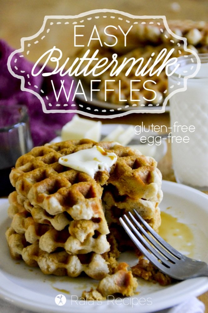 Easy Gluten Free Buttermilk Waffles