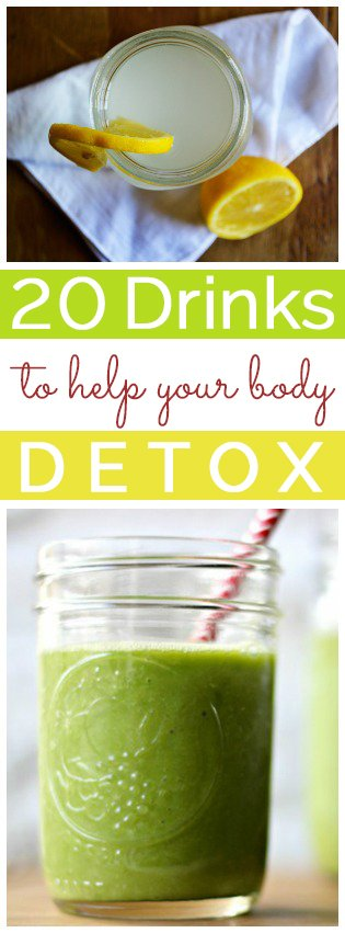20 Drinks to Help Your Body Detox | RaiasRecipes.com