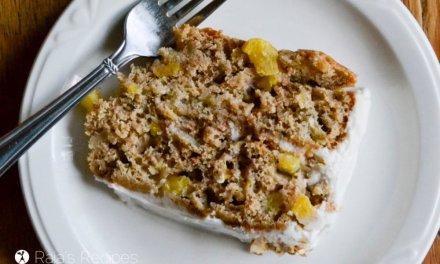 Real Food Hummingbird Cake :: Gluten-Free, Dairy-Free!