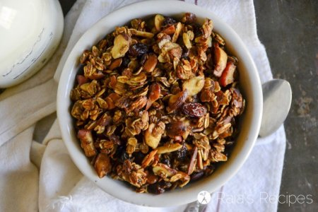Apple Almond Granola