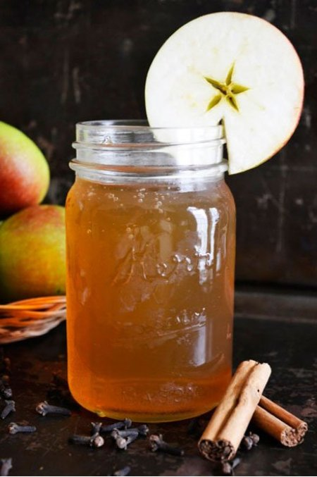 Spiced Apple Kombucha