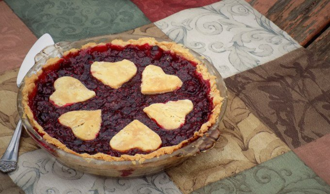 Cranberry Raspberry Pie from The Hungry Caterpillar