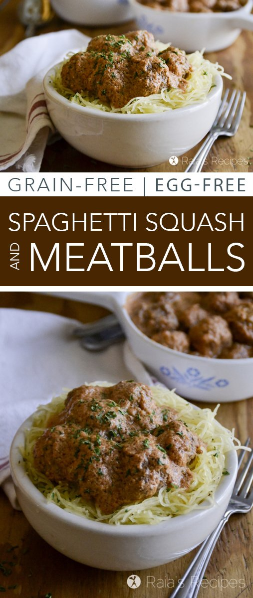 Grain-free? Missing spaghetti and meatballs? Enjoy it again with this easy and delicious grain-free version!