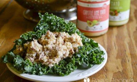 Chipotle Lime Tuna Quinoa Wraps