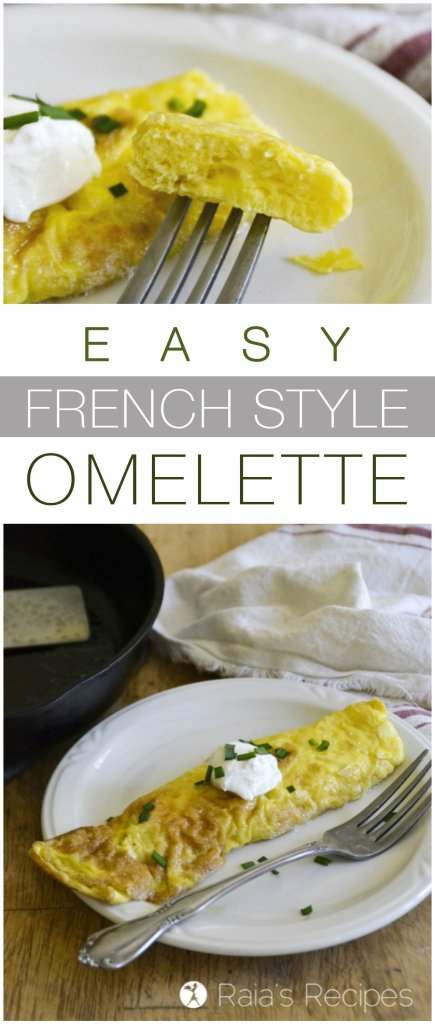 You don't need to be a chef to make a gorgeous omelette. This paleo and GAPS-friendly Easy French Style Omelette is sure to become a favorite.