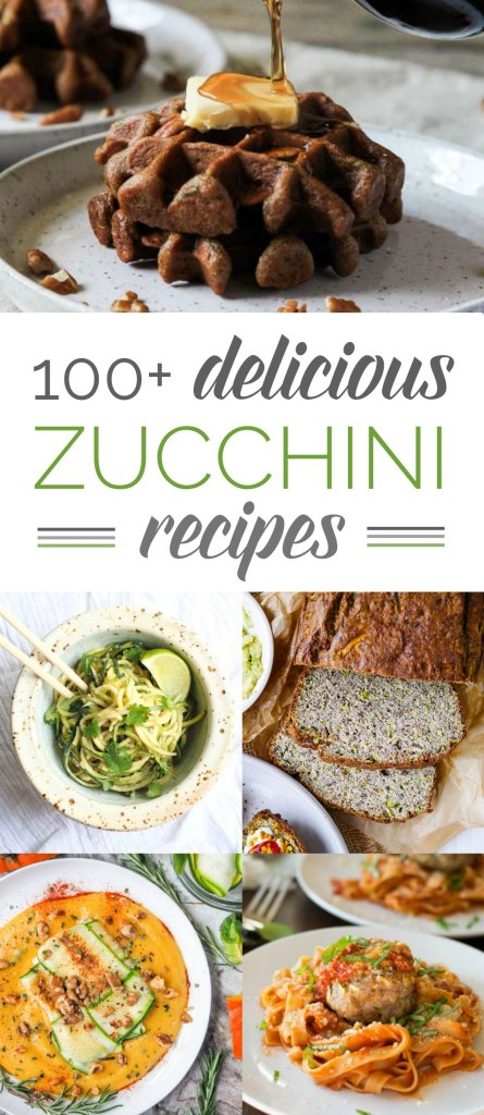 Does it seem like you have zucchini coming out your ears? If you have that wonderful 'problem,' here are 101 delicious zucchini recipes that are all gluten-free.