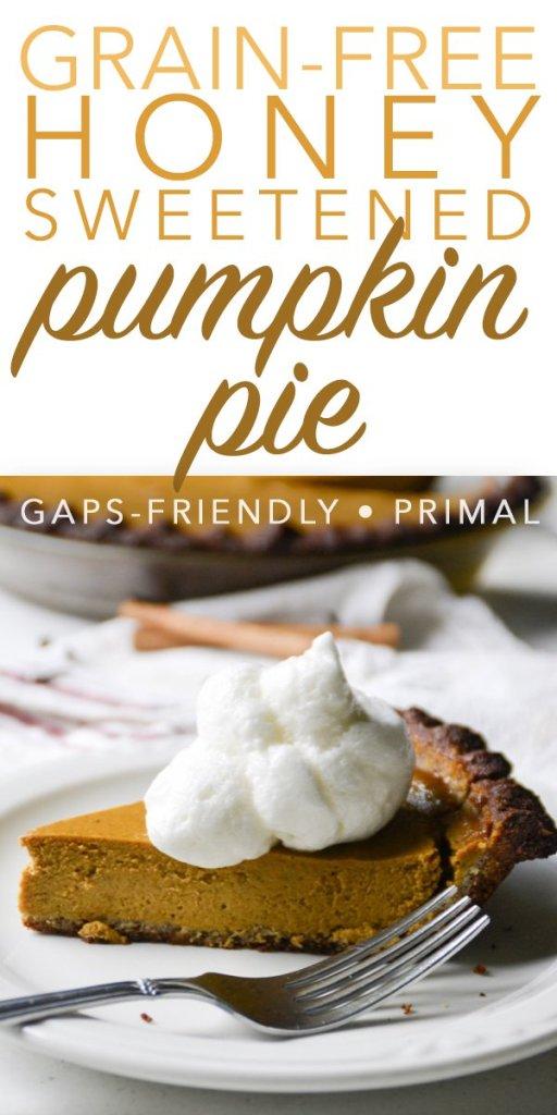 grain-free pumpkin pie