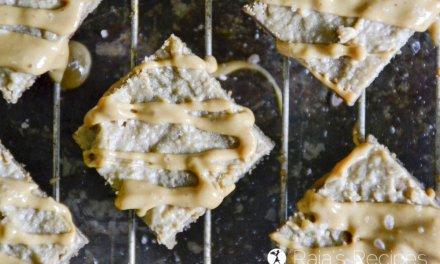 Paleo Salted Walnut Butter Blondies