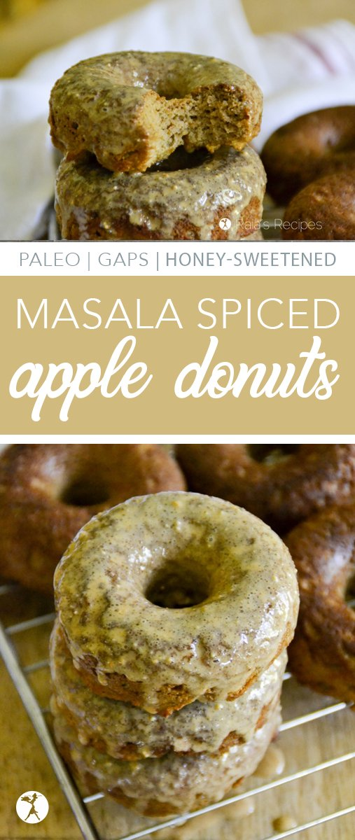 Full of sweet exotic flavor and nutrition, theseMasala Spiced Apple Donuts are the perfect breakfast for anyone on a grain-free, refined sugar-free lifestyle!